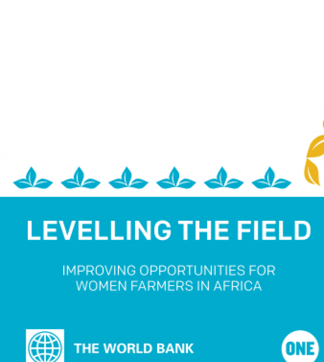 Download Resource: Levelling the Field: Improving Opportunities for Women Farmers in Africa