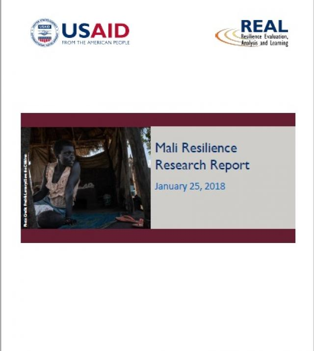 Download Resource: Mali Resilience Research Report