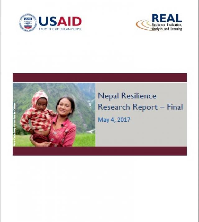 Download Resource: Nepal Resilience Research Report - Final