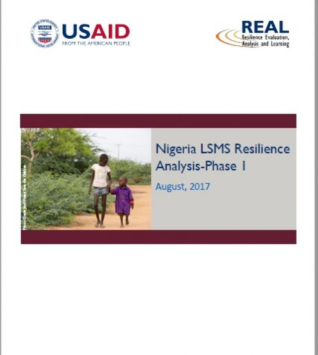 Download Resource: Nigeria LSMS Resilience Analysis - Phase I