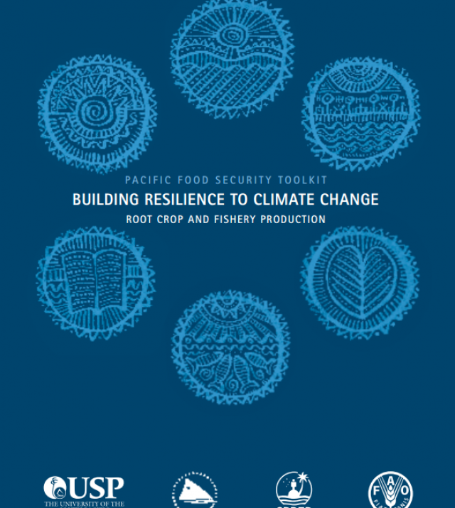 Download Resource: Pacific Food Security Toolkit: Building Resilience to Climate Change Root Crop and Fishery Production