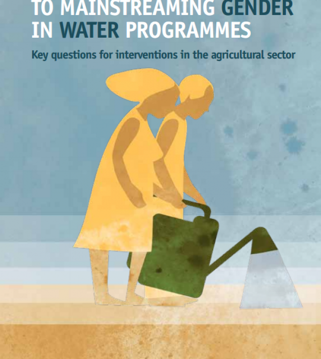 Download Resource: Passport to Mainstreaming Gender in Water Programmes, Key Questions for Interventions in the Agricultural Sector