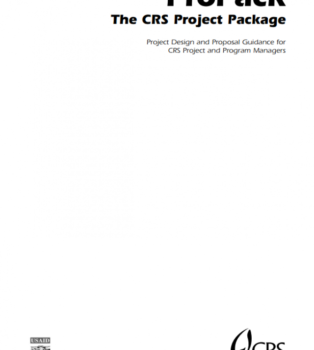 Download Resource: ProPack - The CRS Project Package