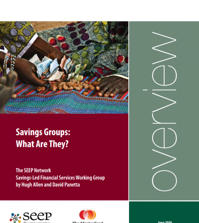 Download Resource: Savings Groups: What Are They?
