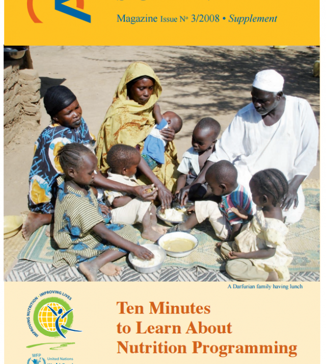 Download Resource: Ten Minutes to Learn About Nutrition Programming - Magazine Issue No. 3/2008