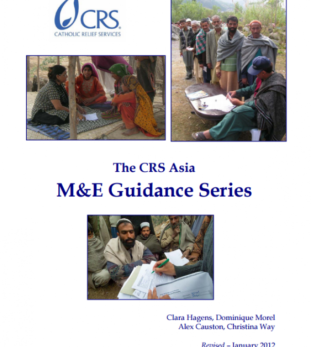 Download Resource: The Catholic Relief Services Asia M&E Guidance Series