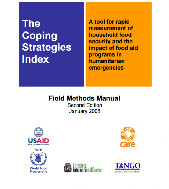 Download Resource: The Coping Strategies Index: Field Methods Manual