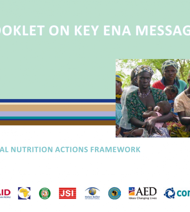 Download Resource: The Essential Nutrition Actions (ENA) Framework