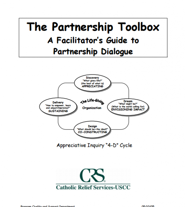 Download Resource: The Partnership Toolbox: A Facilitator's Guide to Partnership Dialogue