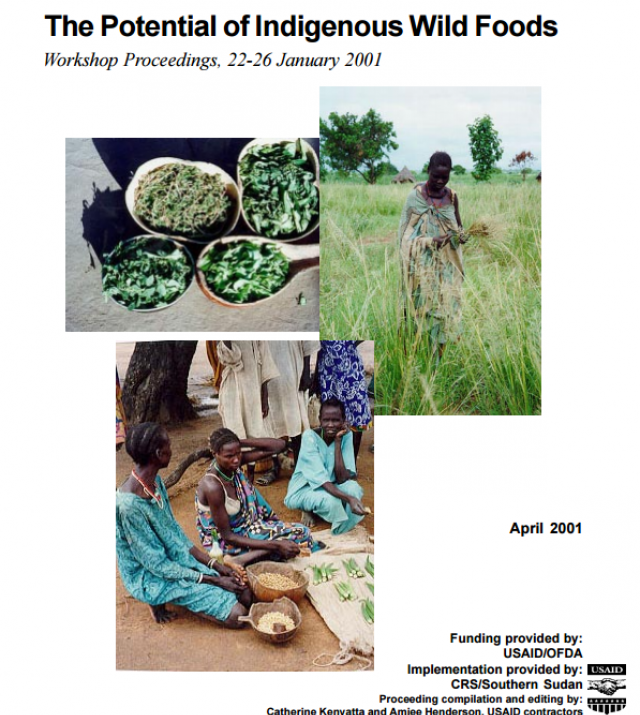 Download Resource: The Potential of Indigenous Wild Foods