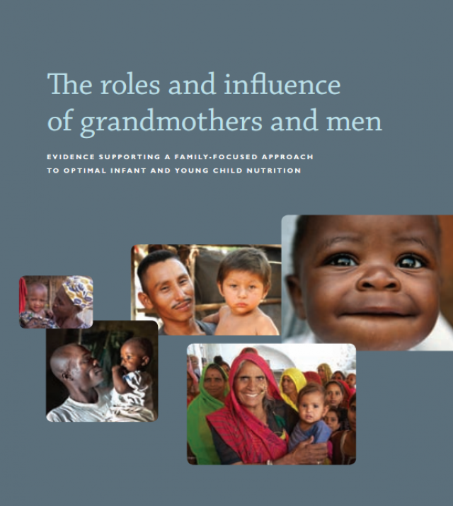 Download Resource: The Roles and Influence of Grandmothers and Men: Evidence Supporting a Family-focused Approach to Optimal Infant and Young Child Nutrition