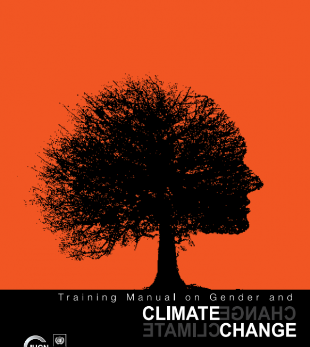 Download Resource: Training Manual on Gender and Climate Change