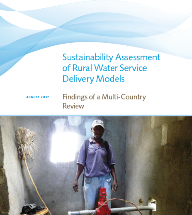 Download Resource: Sustainability Assessment of Rural Water Service Delivery Models - Findings of a Multi-Country Review