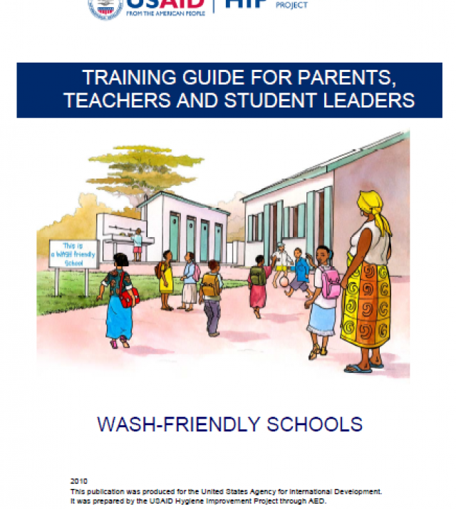 Download Resource: Training Guide for Parents, Teachers and Student Leaders - WASH-Friendly Schools
