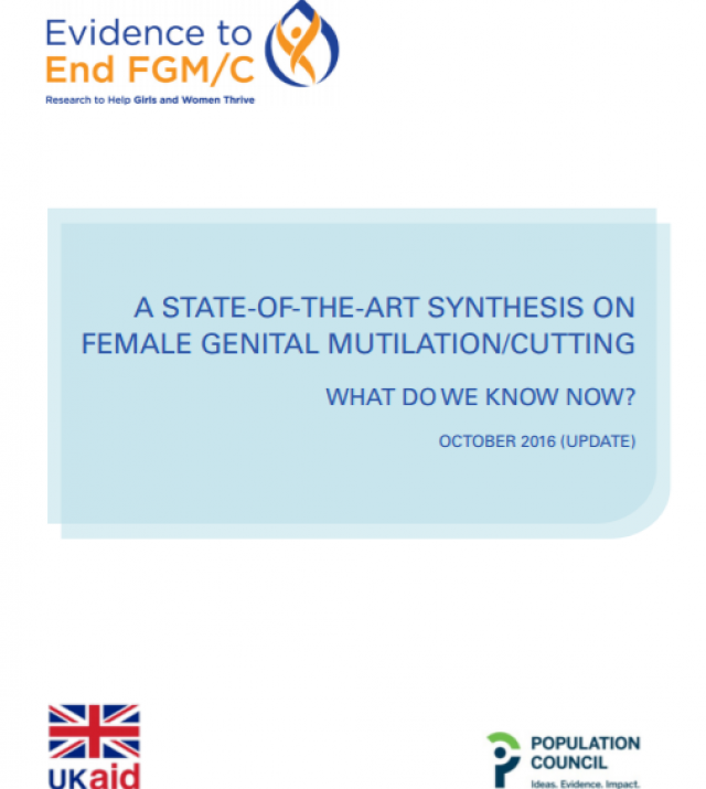 Download Resource: A State-of-the-Art Synthesis on Female Genital Mutilation/Cutting: What do we know now?
