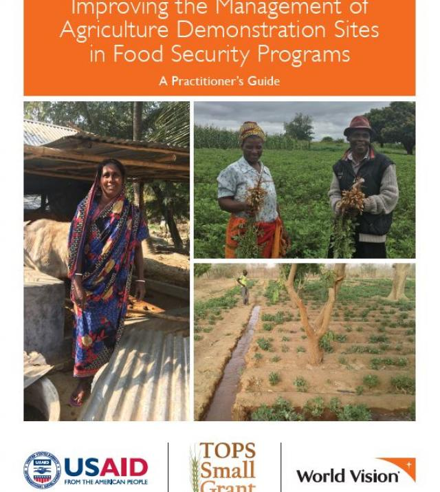 Download Resource: Improving the Management of Agriculture Demonstration Sites in Food Security Programs