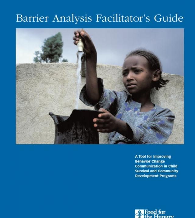 Download Resource: Barrier Analysis Facilitator's Guide