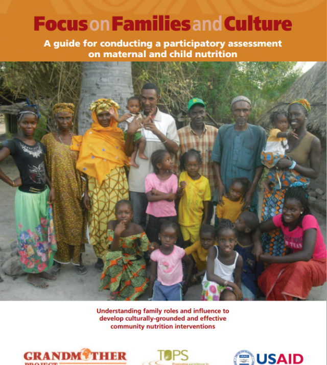Download Resource: Focus on Families and Culture: A guide for conducting a participatory assessment on maternal and child nutrition
