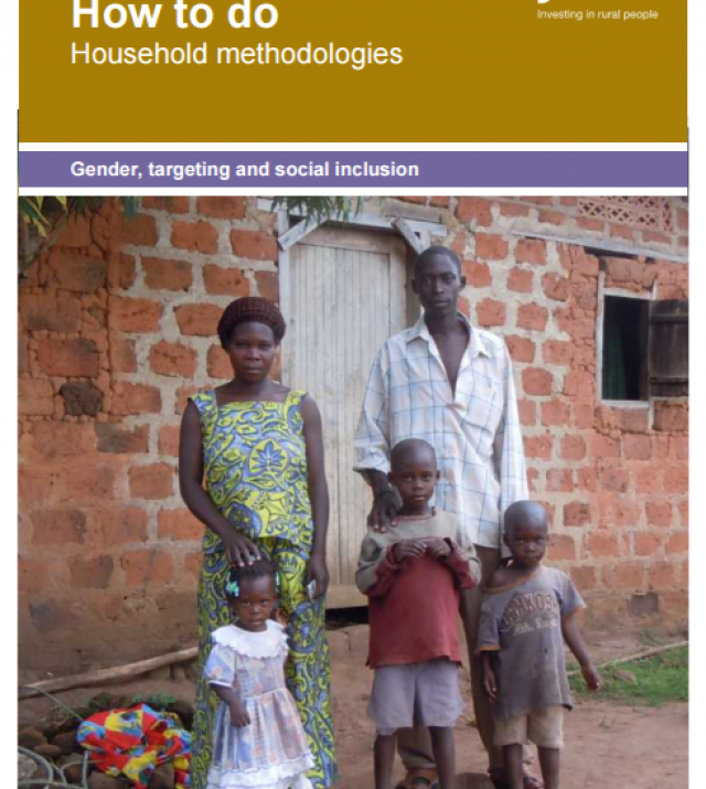 Download Resource: Household Methodologies Toolkit