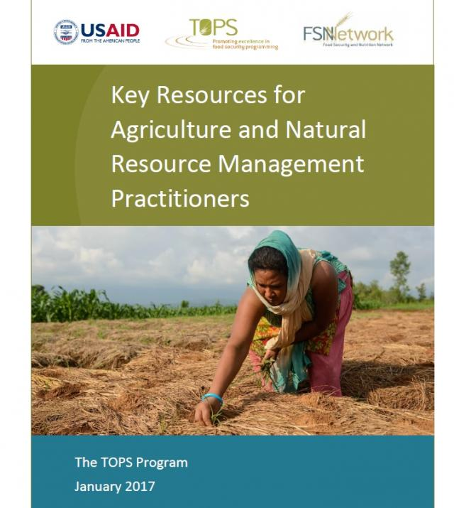 Download Resource: Key Resources for Agriculture and Natural Resource Management Practitioners
