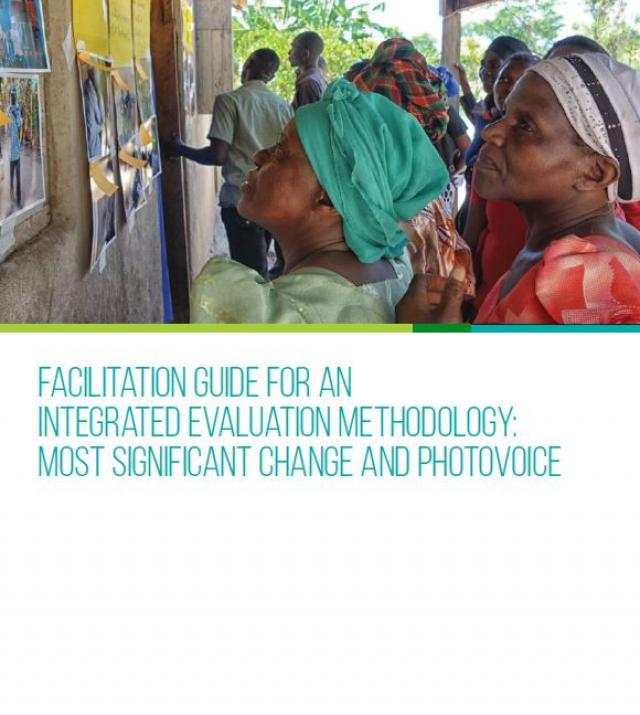 Download Resource: Facilitation Guide for an Integrated Evaluation Methodology: Most Significant Change and PhotoVoice