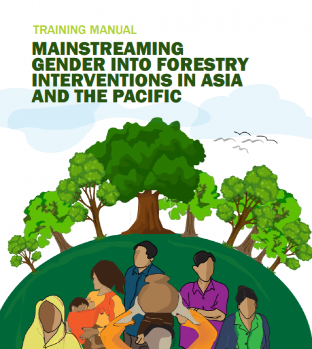 Download Resource: Mainstreaming Gender into Forestry Interventions in Asia and the Pacific