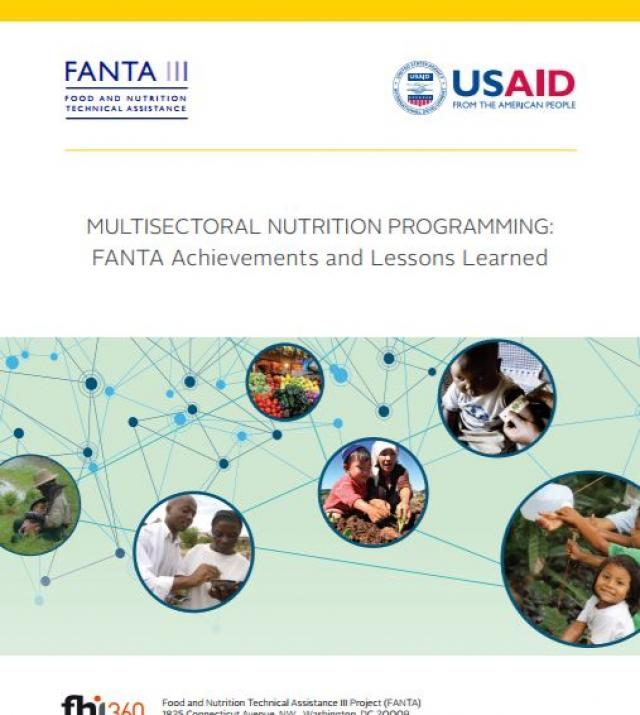Download Resource: Multisectoral Nutrition Programming: FANTA Achievements and Lessons Learned