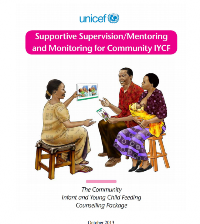 Download Resource: Supportive Supervision/Mentoring and Monitoring for Community IYCF