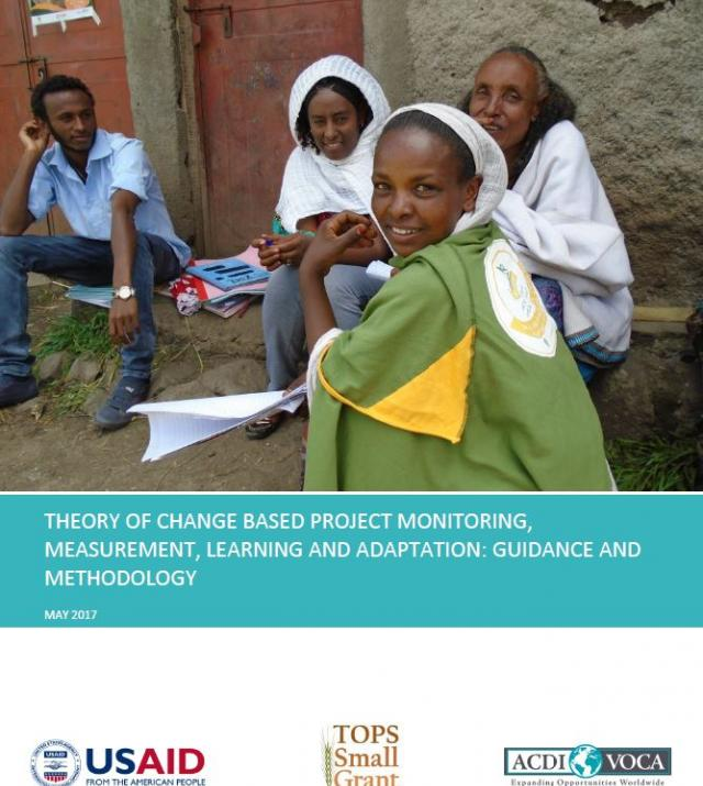 Download Resource: Theory of Change Based Project Monitoring, Measurement, Learning and Adaptation: Guidance and Methodology