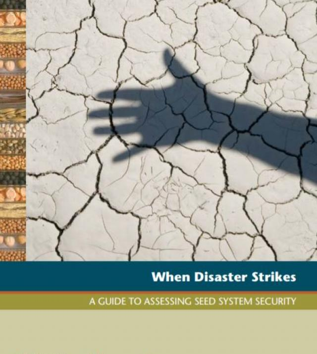 Download Resource: When Disaster Strikes: A Guide to Assessing Seed System Security